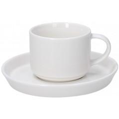 Tognana Fontebasso Polar Bianco Set of  6 Tea Cups 200 cc