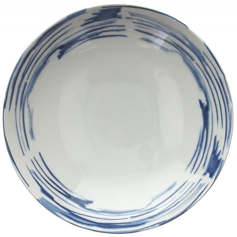 Tognana Fontebasso Sea Side Maiolica Couscous Plate