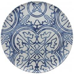 Tognana Fontebasso Sea Side Maiolica Multifunctional Plate