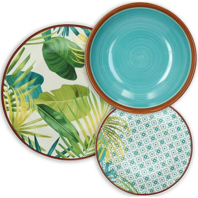 Tognana Jungle Table Set 18 Pcs