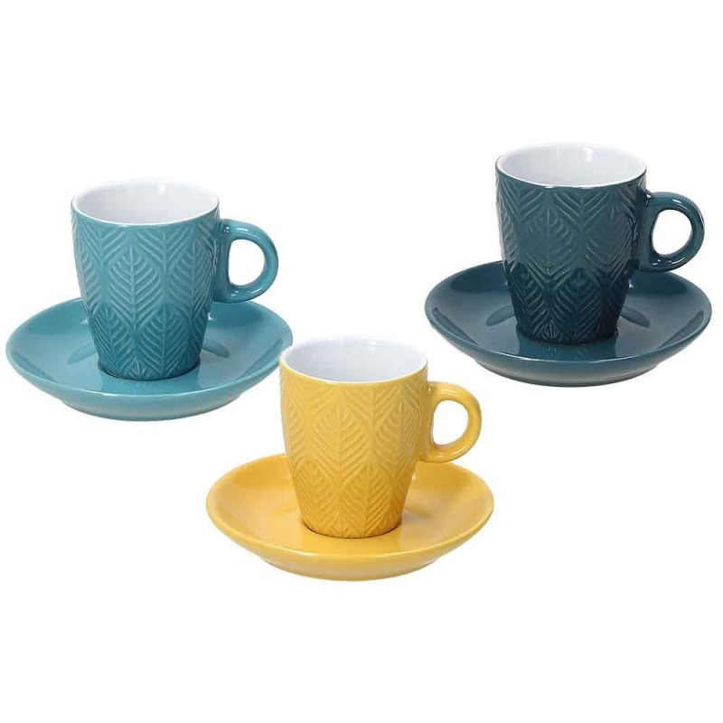 Tognana Maya Table Set Coffe Cup and Saucer 90 ml