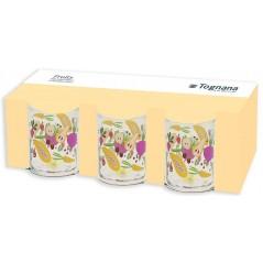 Tognana Fruits Set of 6 Glasses