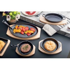 Tognana Fusion Taste Skillet with Board