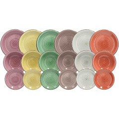 Tognana Corinne Multicolor Set 18 Pcs