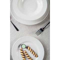 Tognana Every Day Circles Dessert Plate
