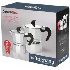 Tognana Coffee Time Black Zestaw