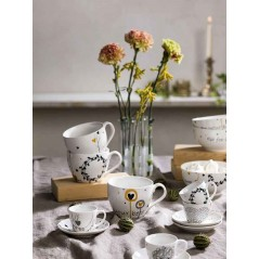 Tognana Texture Goldy Set of Coffee Cups 90 cc
